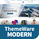 ThemeWare® Modern | sales increasing and customizable