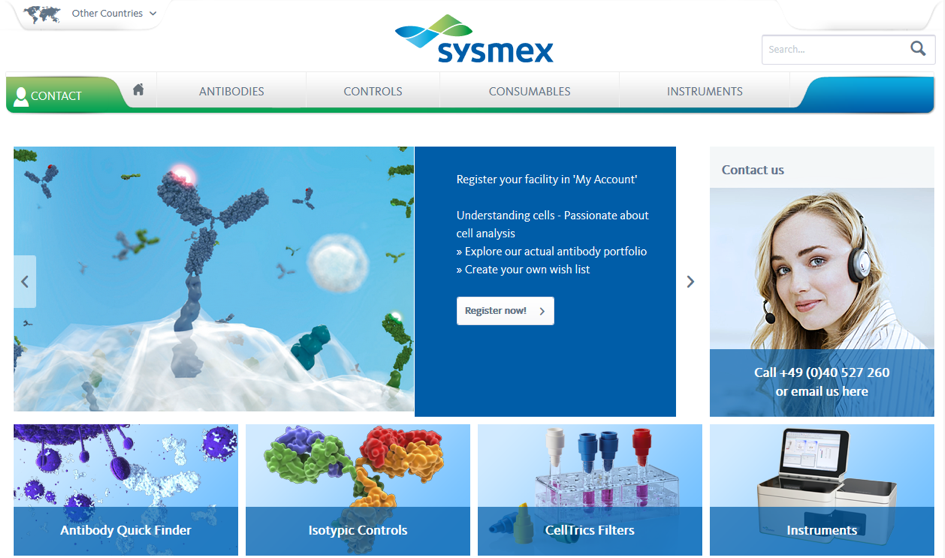 Sysmex-Storefront
